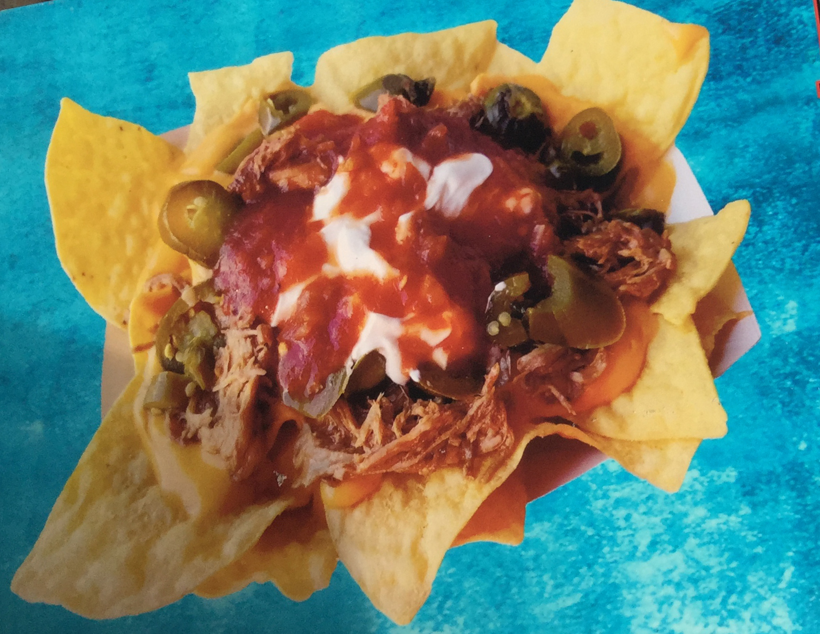 Midstate Cookers - Pulled Pork Nachos
