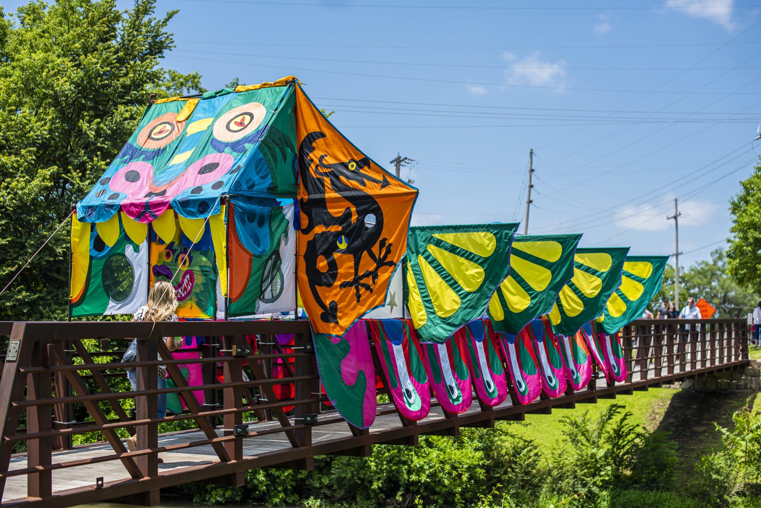 Dream Dragon Bridge by Bill Godfrey