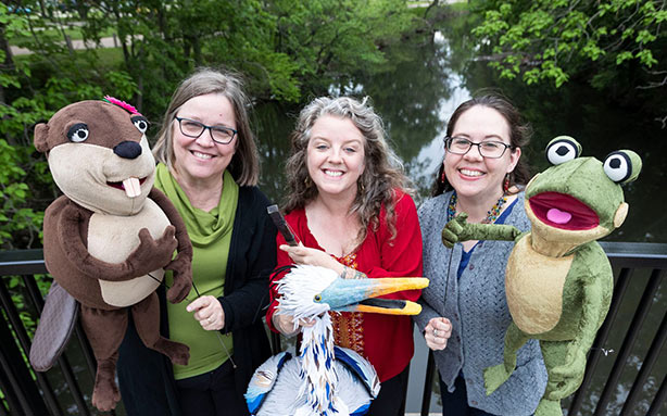 Talkin' Trash with the River Puppets